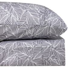 Orchid Aster Thermal Microfibre Flannelette Sheet Set