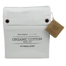 White Organic Cotton Sheet Set