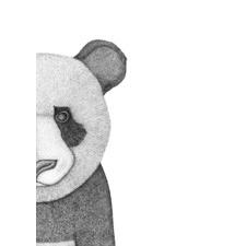 Pete the Panda Printed Wall Art