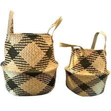 2 Piece Sadie Belly Basket Set