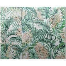 Summer Palms Wall Art Triptych