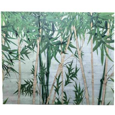Bamboo Forest Wall Art Triptych