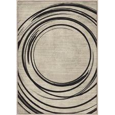 Abstract Circles Framed Canvas Wall Art