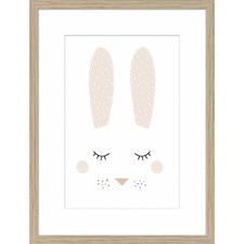 Junior Bella Bunny Framed Printed Wall Art