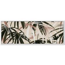 Natural Palms Framed Canvas Wall Art