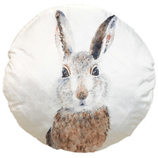 Brown Rabbit Cotton Cushion