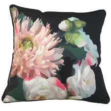 Midnight Printed Florals Outdoor Cushion