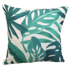 Tropical Foliage Outdoor Cushion