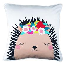 Henrietta Hedgehog Cotton Cushion