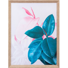 Right Rubber Plant Framed Canvas Wall Art