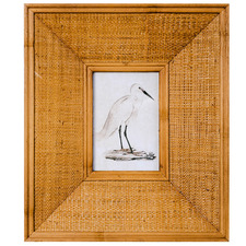 Beige Bahama Breeze Rattan Photo Frame