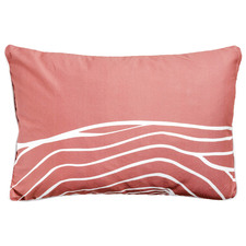 Uluru Lines Artist Lab Cotton Cushion