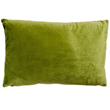 Solid Rectangular Velvet Cushion