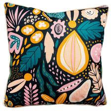 Printed Bold Florals Cushion
