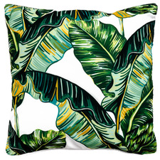 Tropical Leaves I Outdoor Cushion