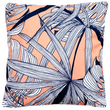Peach Leaves Outdoor Cushion