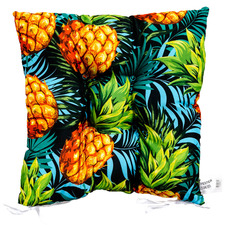 Pineapple Punch Outdoor Chair Pad