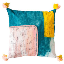Tasselled  Aesha Cotton Cushion