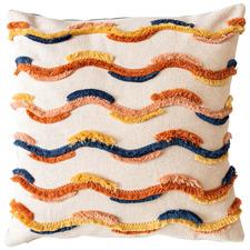 Fringed Pari Cotton Cushion