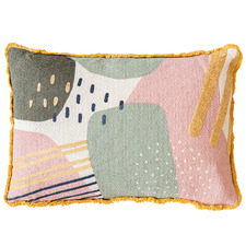 Fringed Sneha Cotton Cushion