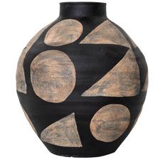 Bubble De Kooning Terracotta Vase