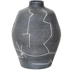 Lines Anatsui Decorative Terracotta Urn