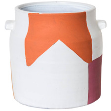 Paper Cut Matisse Terracotta Planter