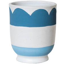 Wave Matisse Terracotta Pot Planter