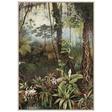 Jungle Fantasy Framed Canvas Wall Art