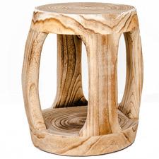 Anoki Paulownia Wood Stool