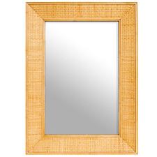 Layla Rattan Wall Mirror