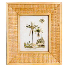 Lulu Rattan Photo Frame