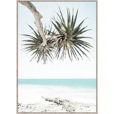 Beach Dreaming Framed Canvas Wall Art