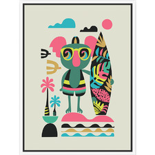 Artist Lab Koala Framed Canvas Wall Art