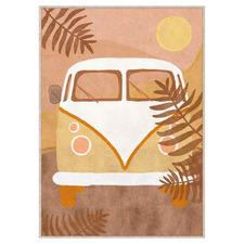 Dusk Combi Framed Canvas Wall Art