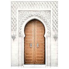 Casablanca Doorway Arch Framed Canvas Wall Art