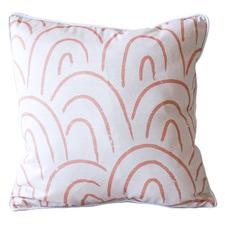 Rainbow Pattern Cotton Cushion