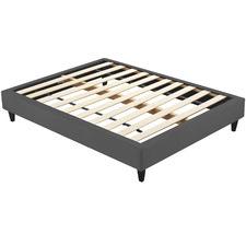 Luxe Velvet Upholstered Bed base