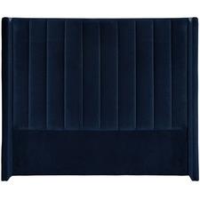 Monaco Winged Velvet Bedhead