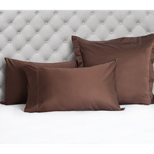Hem Stitched 1200TC Egyptian Cotton Standard Pillowcases (Set of 2)