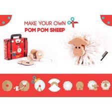 Pom Pom Sheep Toy