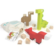 Wooden Animal Factory Toy