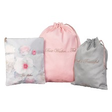 Pale Chelsea Border Laundry Bags (Set of 3)