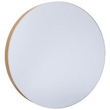 Deep Round Mirror