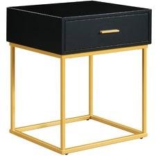 Gold Portofino Luxe Bedside Drawer