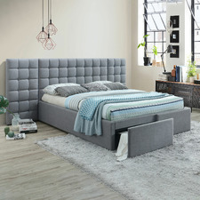 Wolf Grey Ravello Premium Storage Bed