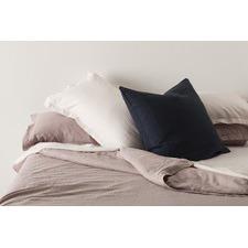 Pink Linen Quilt Cover Set