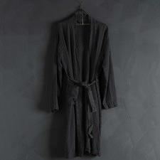 Jacquard Linen Bath Robe