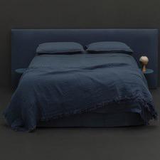 Denim Linen Quilt Cover Set