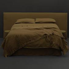 Olive Linen Quilt Cover Set